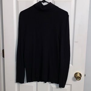 Black Long Sleeve Turtleneck
